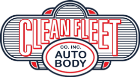 Clean Fleet Auto Body logo