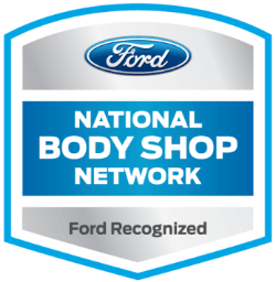 Ford National Body Shop Network badge