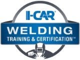 I-CAR Welding Certification badge